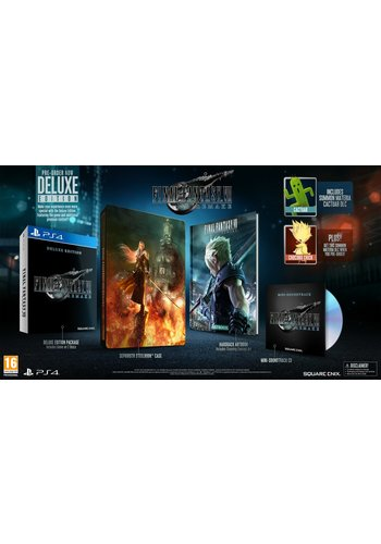 Final Fantasy 7 Remake - Deluxe Edition - Playstation 4
