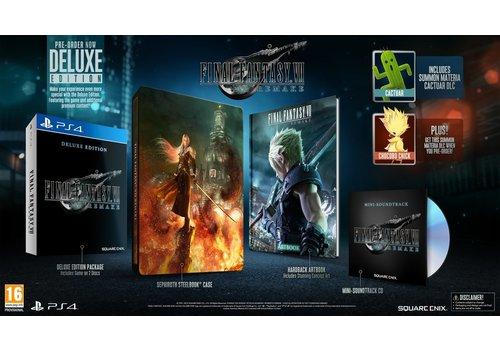 Final Fantasy VII Remake - Deluxe Edition - Playstation 4
