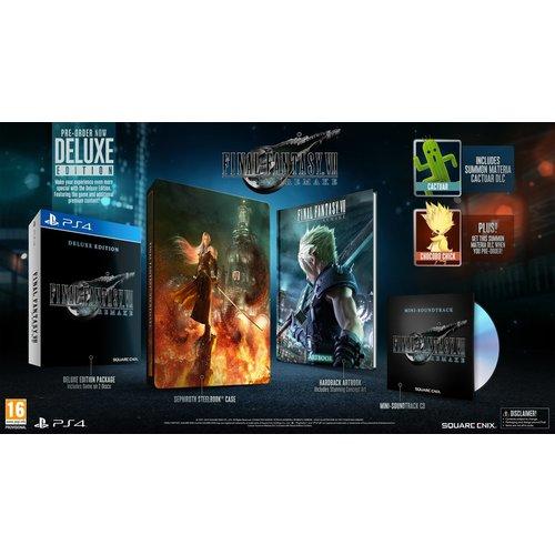 Final Fantasy 7 Remake - Deluxe Edition - Playstation 4