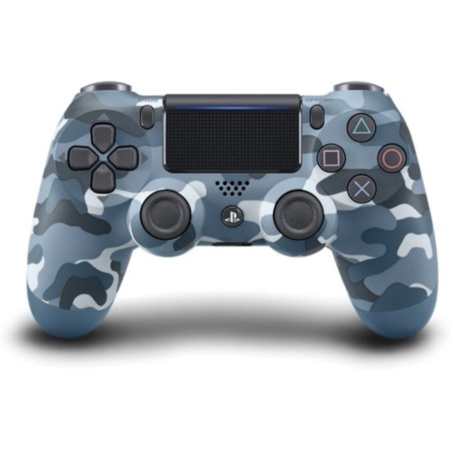 Sony Wireless Dualshock 4 PS4 Controller (Camo Blauw)