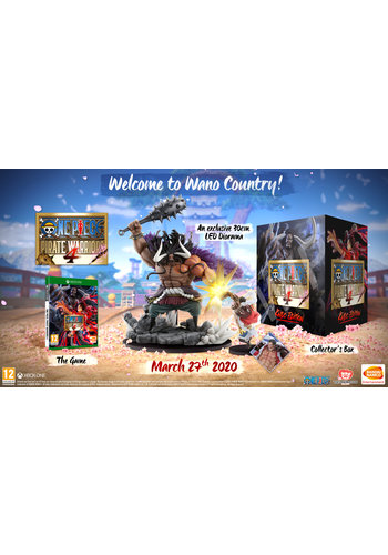 One Piece: Pirate Warriors 4 collectors edition + Pre-order - Xbox One