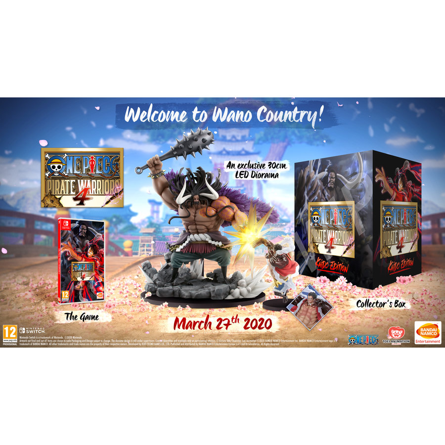 One Piece: Pirate Warriors 4 collectors edition + Pre-order - Nintendo Switch