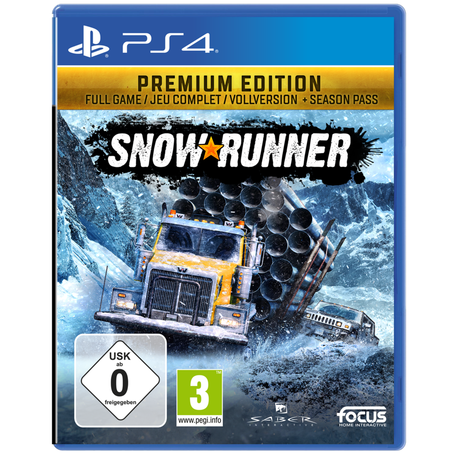 SnowRunner Premium Edition - Playstation 4