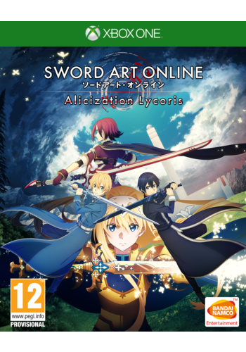 Sword Art Online Alicization lycoris + Pre-order DLC - Xbox One