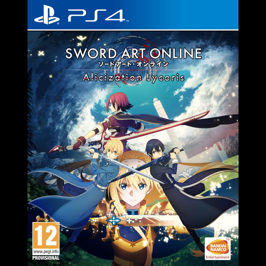 Sword Art Online Alicization lycoris + Pre-order DLC - Playstation 4