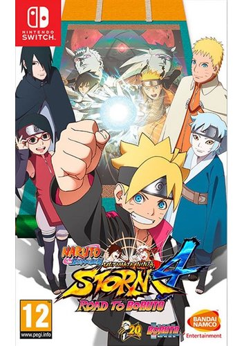 Naruto Shippuden - Ultimate Ninja Storm 4 Road to Boruto - Nintendo Switch