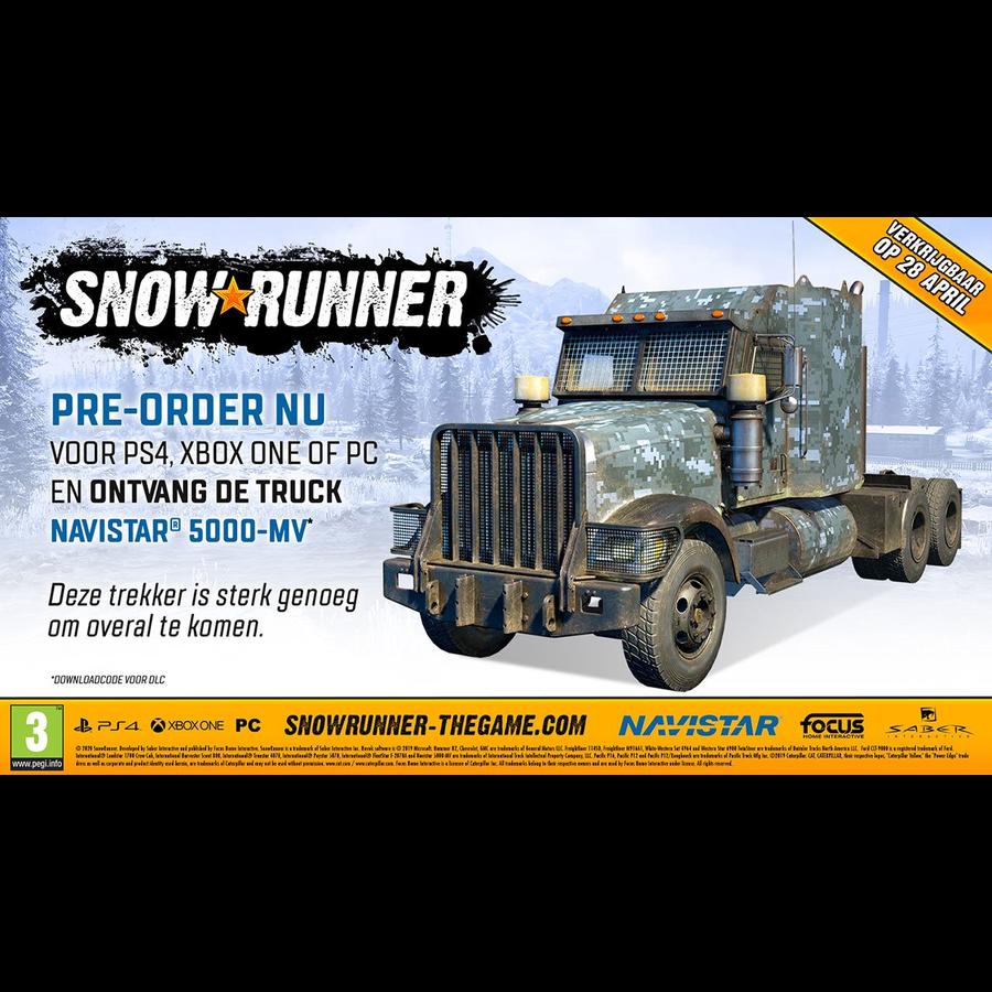 SnowRunner Premium Edition  - Playstation 4