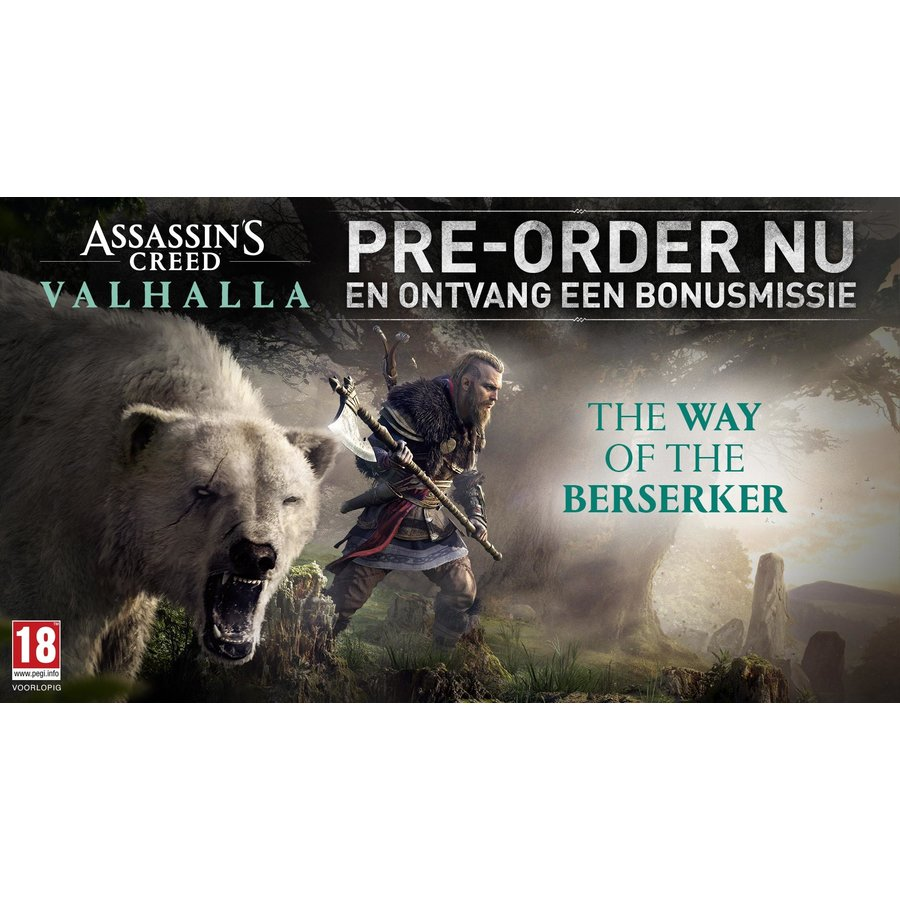 Assassin's Creed Valhalla + Pre-order DLC - Xbox One & Xbox Series X