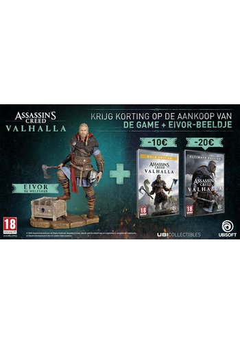 Assassin's Creed Valhalla Ultimate edition bundel + Pre-order DLC - Xbox One