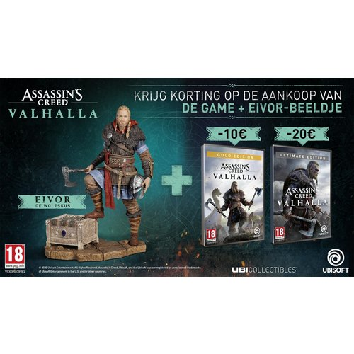 Assassin's Creed Valhalla Ultimate edition bundel  - Xbox One & Xbox Series X