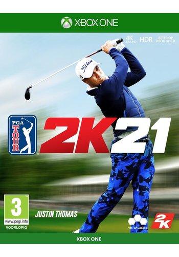 PGA Tour 2K21 + Pre-order bonus - Xbox One
