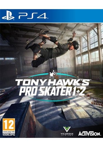 Tony Hawk's Pro Skater 1+2 - Playstation 4