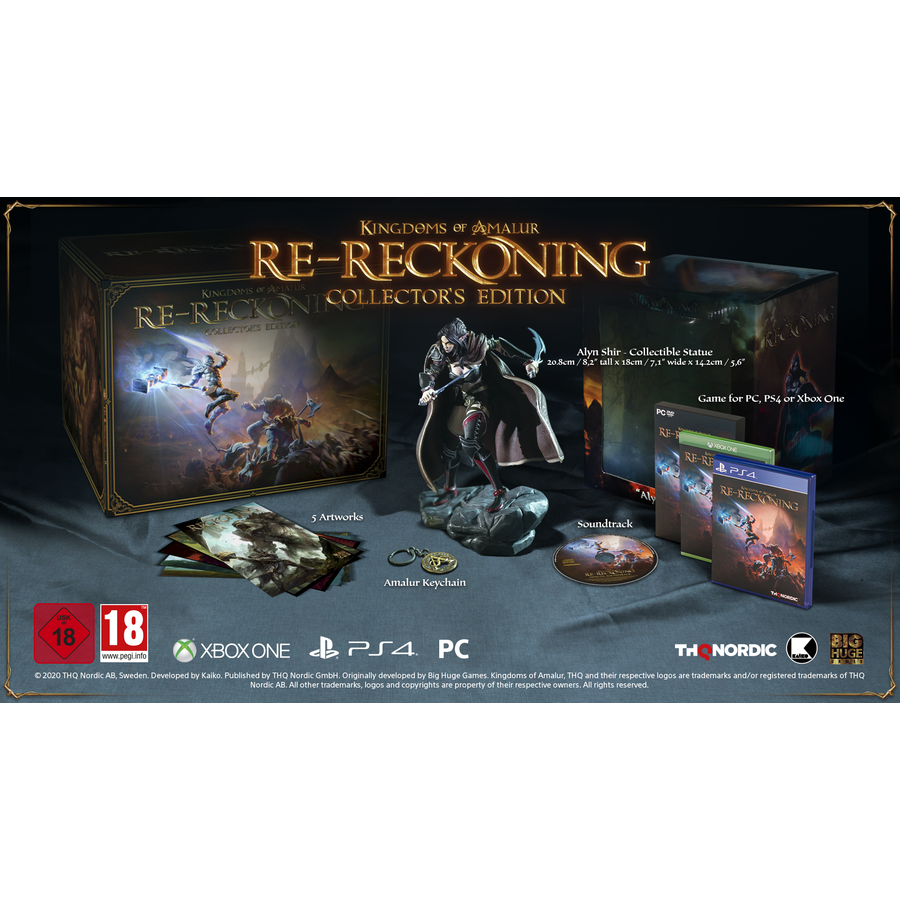 Kingdoms of Amalur Re-Reckoning - Collector's Edition - Xbox One