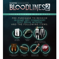 Vampire:The Masquerade Bloodlines 2 - Unsanctioned Edition (Steelbook) - PC