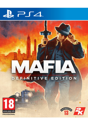 Mafia Definitive Editon + Pre-order Bonus - Playstation 4