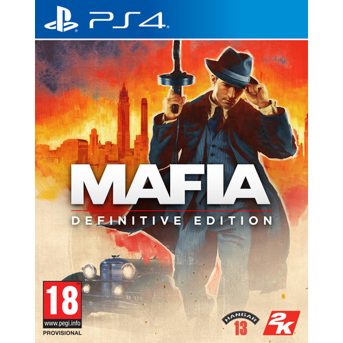 Mafia Definitive Editon + Pre-order Bonus - Playstation 4
