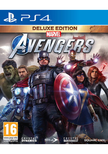Marvel's Avengers - Deluxe Edition - Playstation 4