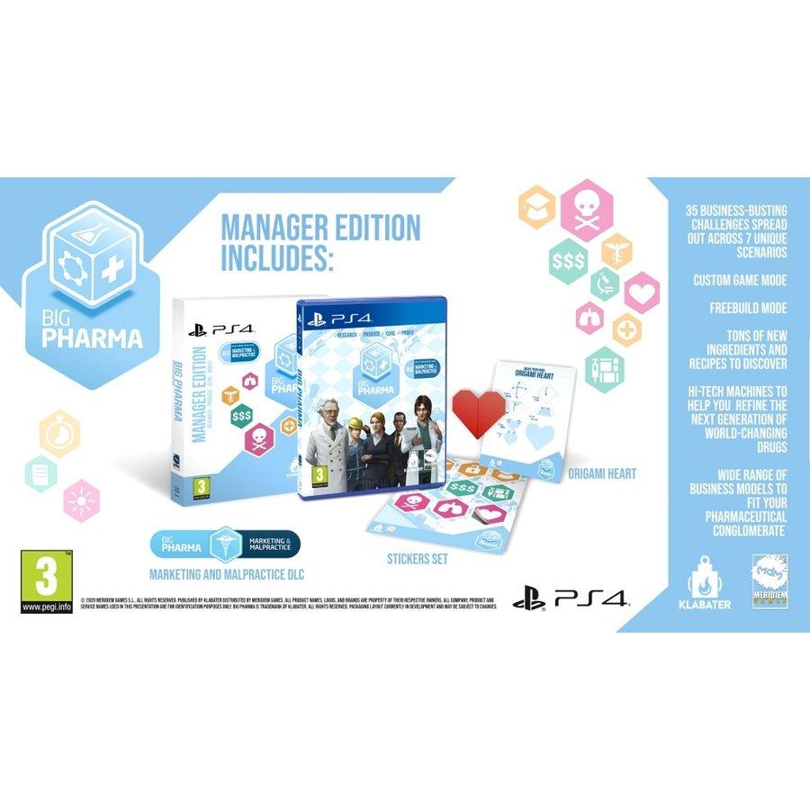 Big Pharma - Manager Edition - Playstation 4