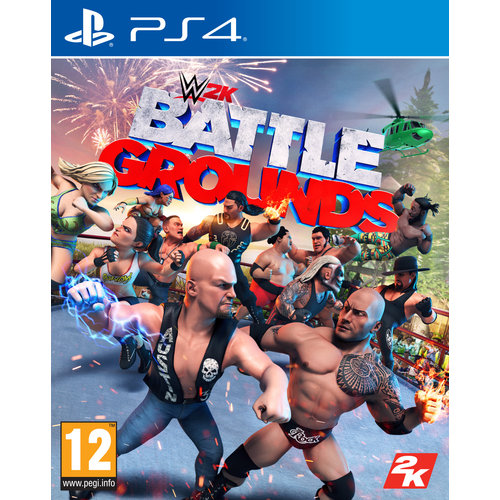 WWE Battlegrounds - Playstation 4