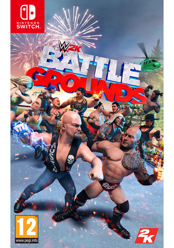 WWE Battlegrounds + Pre-order Bonus - Nintendo Switch