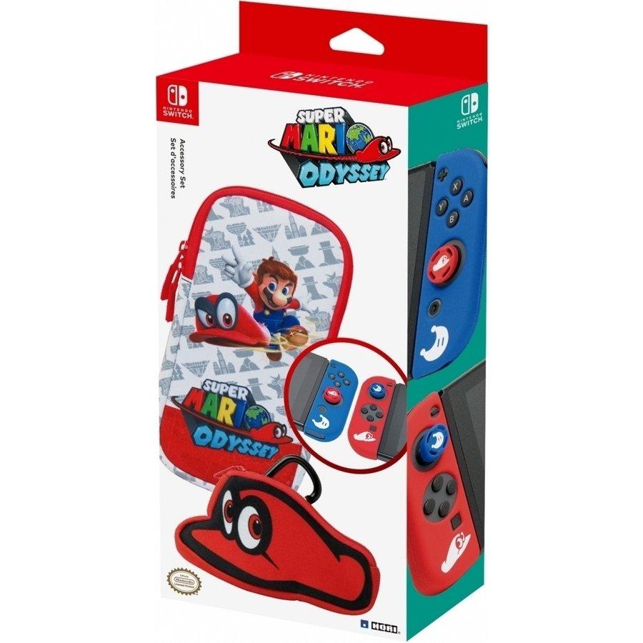 Hori Accessory Set Mario Odyssey