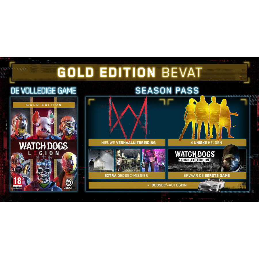 Watch Dogs: Legion - Gold Edition - Xbox One & Xbox Series X