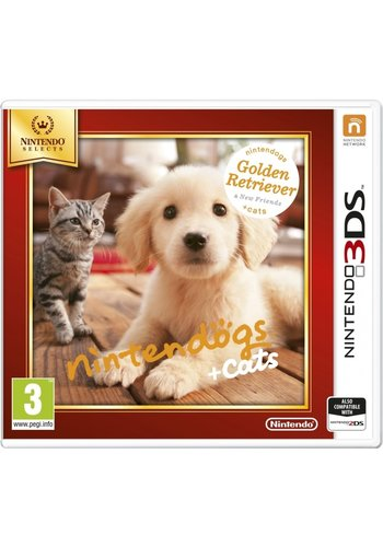 Nintendogs + Cats: Golden Retriever & Nieuwe Vrienden - Nintendo 3DS