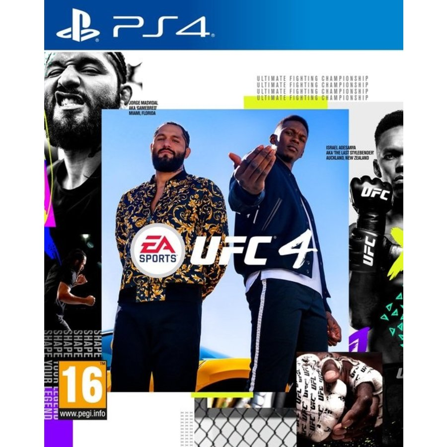 UFC 4 - Playstation 4