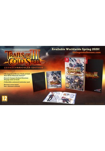 The Legend of Heroes Trails of Cold Steel III - Extracurricular Edition - Nintendo Switch