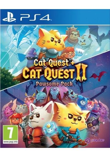 Cat Quest + Cat Quest 2 - Pawsome Pack - Playstation 4