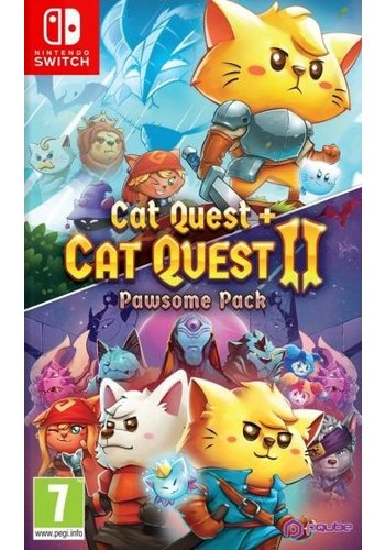Cat Quest + Cat Quest 2 - Pawsome Pack - Nintendo Switch