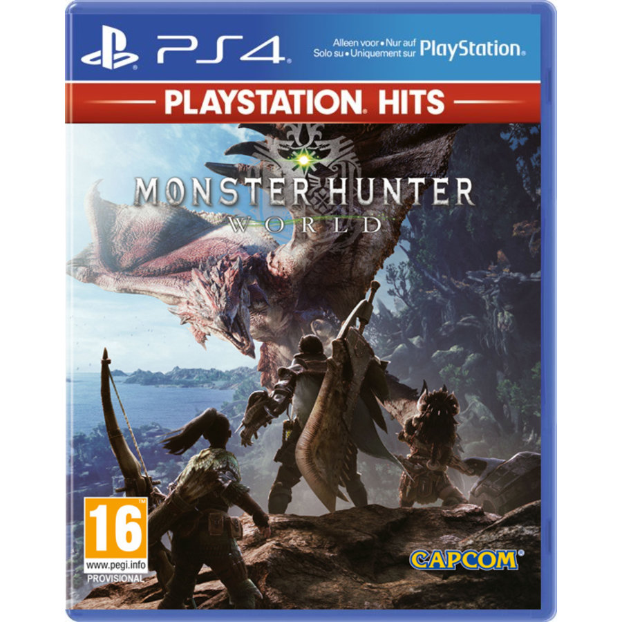 Monster Hunter World PlayStation Hits - Playstation 4