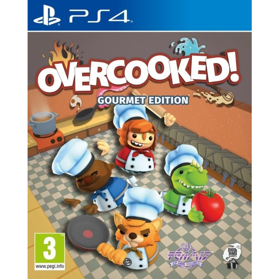 Overcooked! Gourmet Edition - Playstation 4