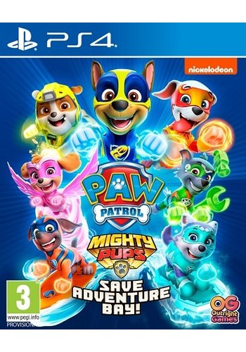 Paw Patrol: Mighty Pups Save Adventure Bay - Playstation 4