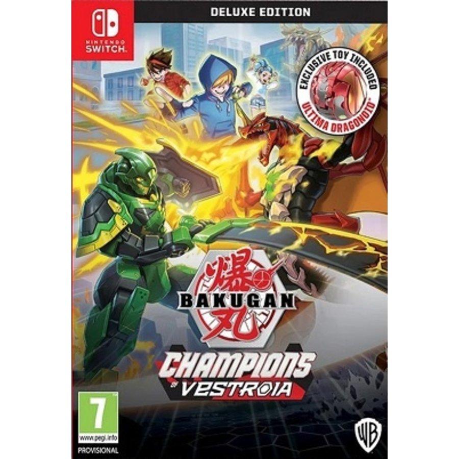 Bakugan: Champions Of Vestroia - Deluxe Edition - Nintendo Switch