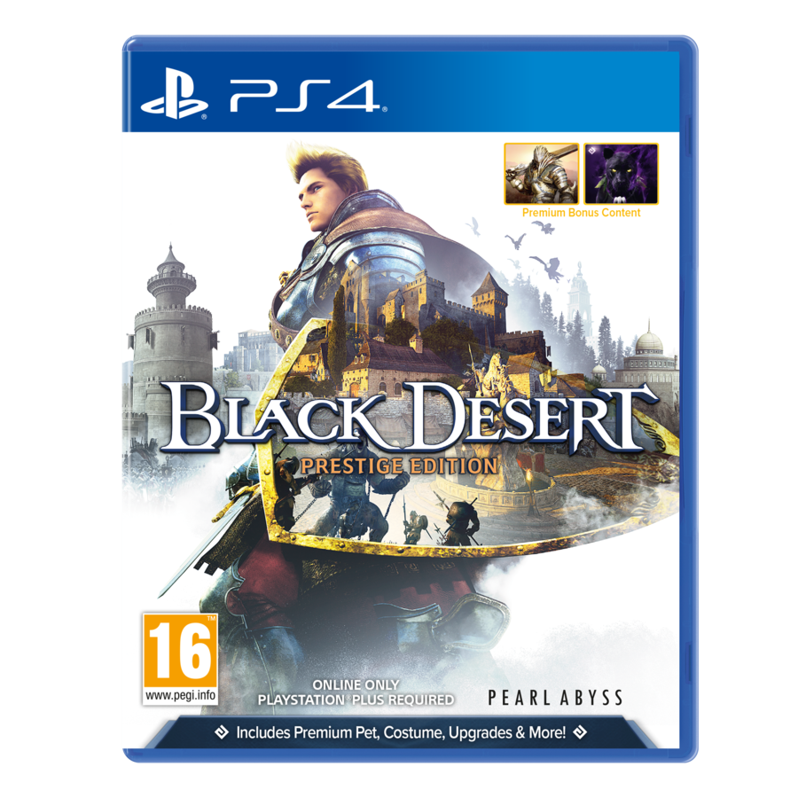 Black Desert Premium Edition - Playstation 4