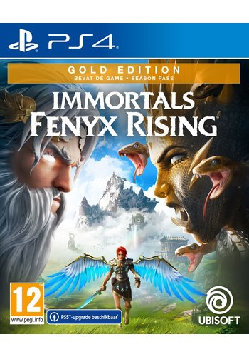Immortals Fenyx Rising Gold Edition + Pre-Order DLC - Playstation 4
