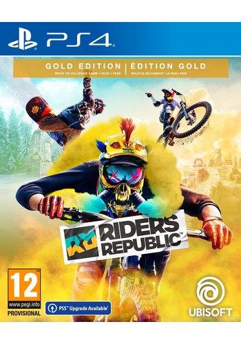 Riders Republic Gold Edition + Pre-Order DLC - Playstation 4