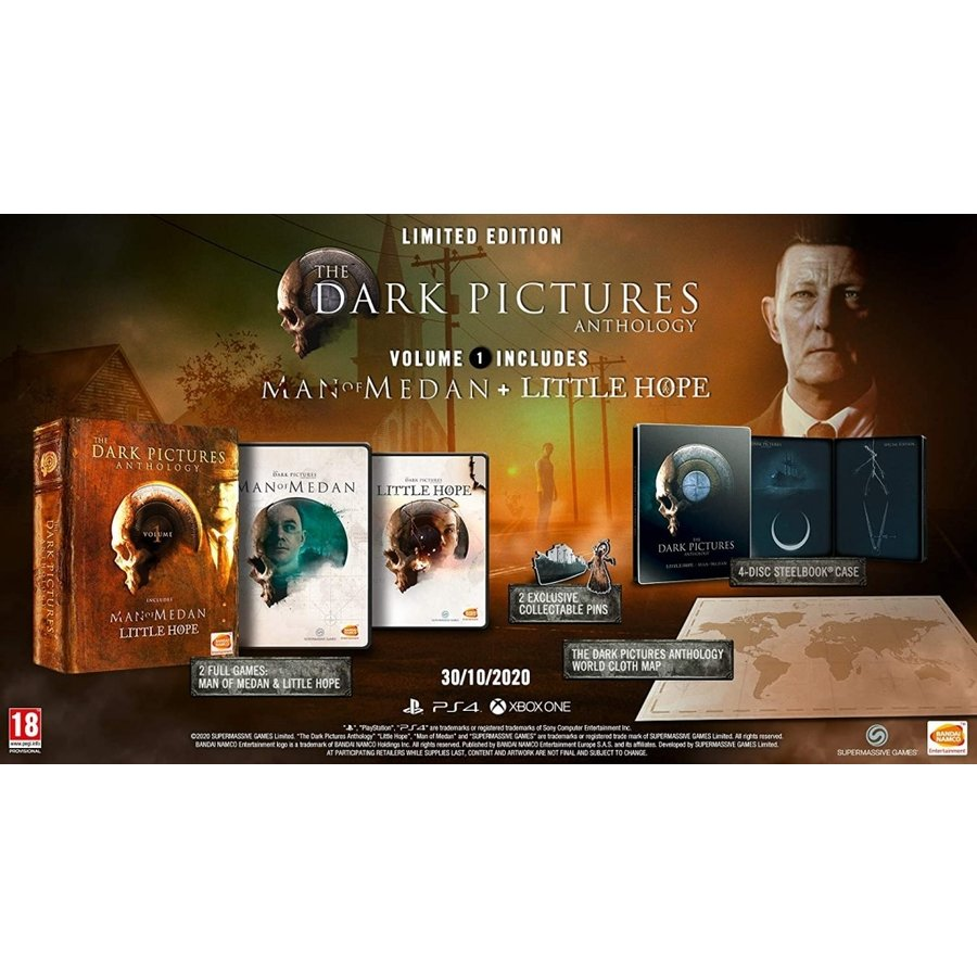 The Dark Pictures: Anthology - Volume 1 + DLC - Playstation 4