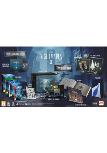 Little Nightmares II TV Edition - Nintendo Switch