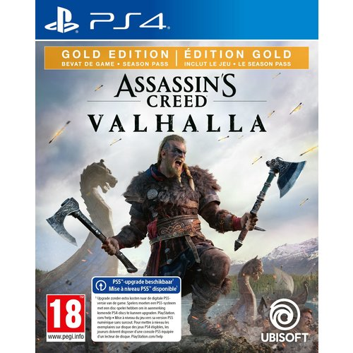 Assassin's Creed Valhalla Gold edition + Pre-order DLC - Playstation 4