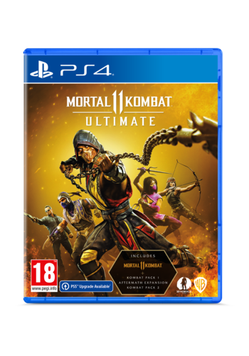 Mortal Kombat 11 Ultimate + Pre-order bonus - Playstation 4