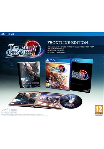 Trails of Cold Steel IV - Frontline Edition - Playstation 4
