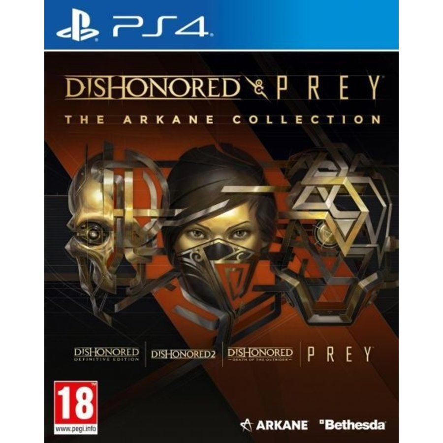 Dishonored and Prey The Arkane Collection - Playstation 4