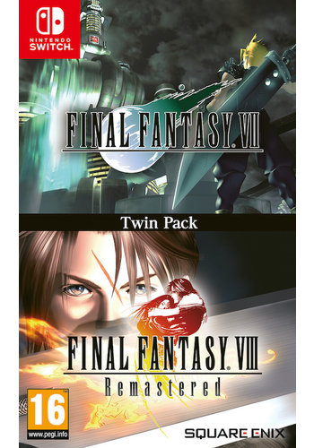 Final Fantasy VII & Final Fantasy VIII Remastered - Nintendo Switch - Twin Pack