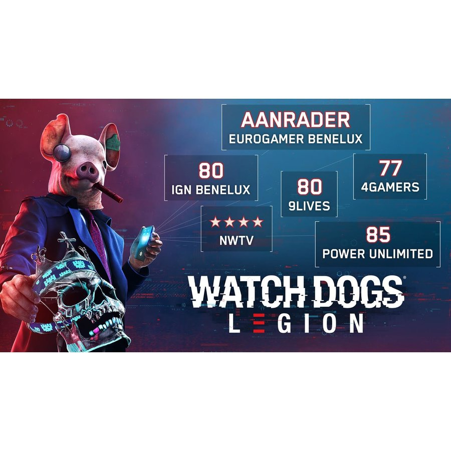 Watch Dogs: Legion - Ultimate Edition + Pre-order DLC - Xbox One