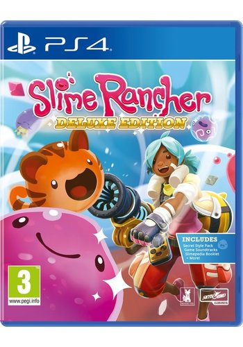Slime Rancher - Deluxe Edition - Playstation 4