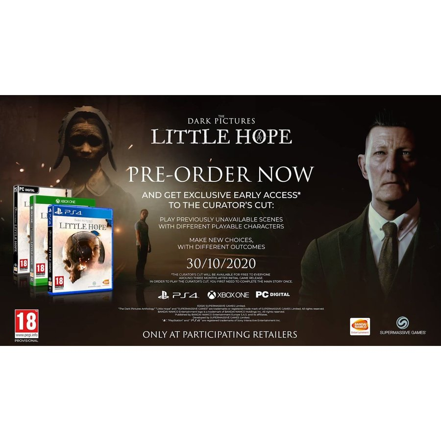 The Dark Pictures Anthology: Little Hope + DLC - Playstation 4