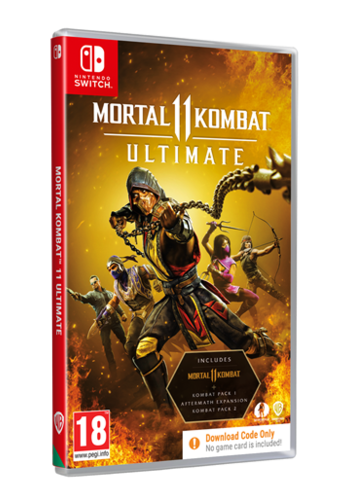 Mortal Kombat 11 Ultimate (Code in Box) - Nintendo Switch