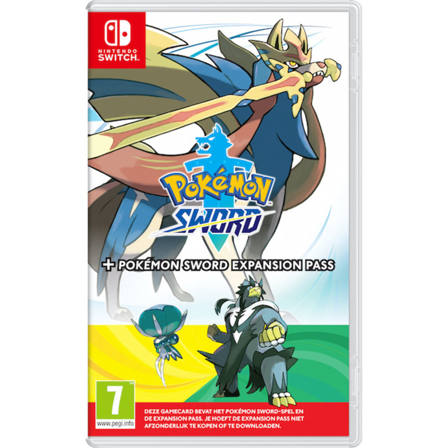 Pokemon Sword + Expansion Pass - Nintendo Switch